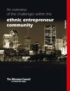 An overview of the challenges within the ethnic entrepreneur community - Arnaud Segla